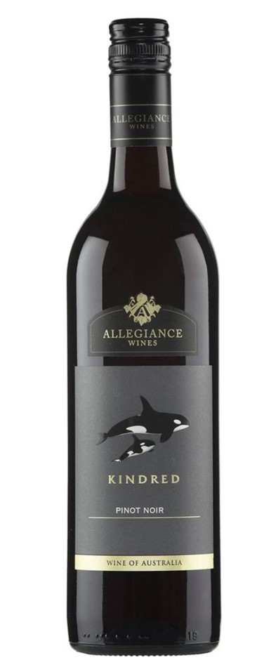 Allegiance Wines Kindred Pinot Noir 2018 (12x 750mL) SEA