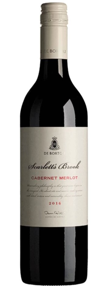 De Bortoli Scarlett's Brook Cabernet Merlot 2016 (12x 750mL) SEA