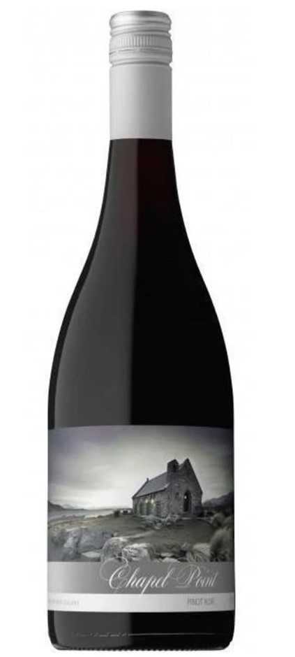 Chapel Point Hawkes Bay Pinot Noir 2015 (12x 750mL) NZ