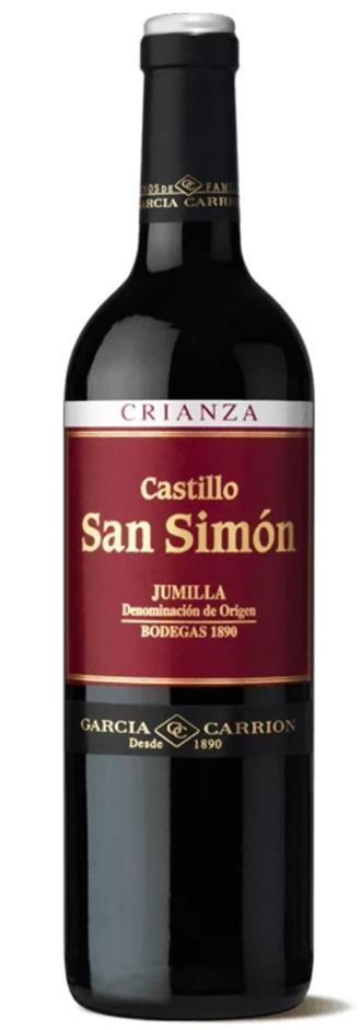 Castillo San Simon Crianza Tempranillo 2012 (6x 750mL) Spain