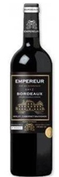 Empereur Bordeaux AOC Rouge 2015 (12x 750mL) Bordeaux, France