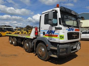 2013 M.A.N. TAM 30.340 8 x 4 Tilt Tray Truck