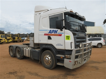 2010 Scania R560 6 x 4 Prime Mover Truck