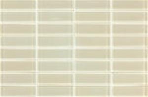 Cotto 06TGL-1000 Ivory Glass Mosaic Tile