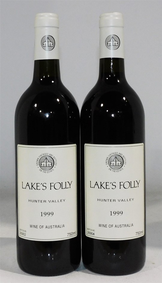 Lakes Folly Cabernets 1999 (2 x 750mL) Hunter Valley, NSW.