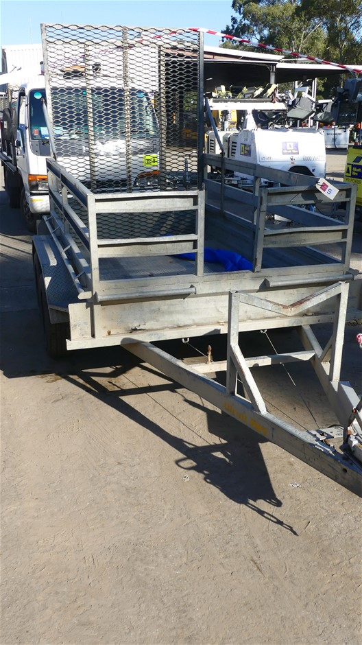 Multi purpose Plant Trailer with Tandem Wheels.