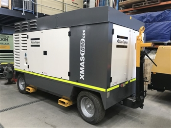 Diesel Air Compressor - Atlas Copco