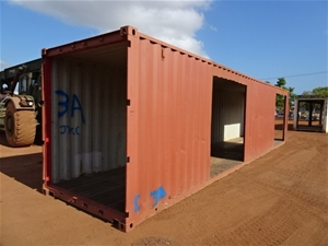 Walkway Shelter, High Cube, 40 Foot, Mod