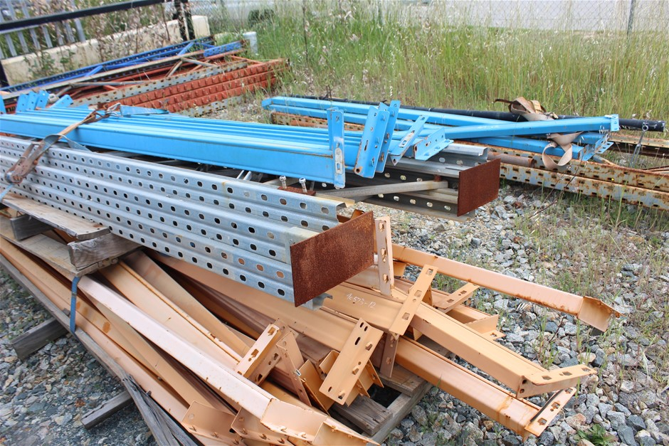 Assortment of Pallet Racking
