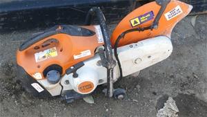 Stihl TS420 Concrete Saw