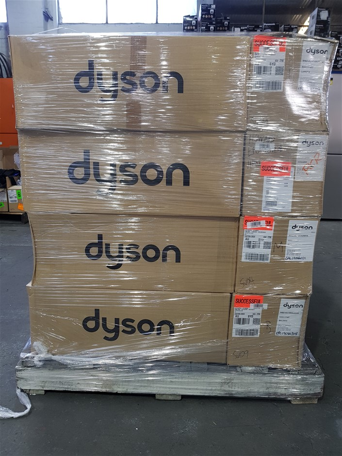 Pallet of Assorted USED/UNTESTED Dyson Appliances