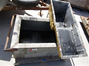CAT 3408 Sump with Oil Catchment Box