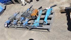 Qty 7 x assorted Pneumatic Jack Hammers