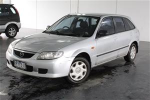2002 Mazda 323 Astina BJ Manual Hatchbac