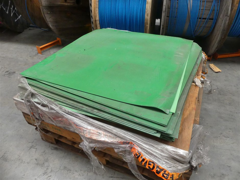 Qty Assorted x PRF Rubber Floor Tiles