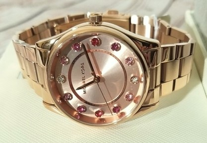 Ladies new Michael Kors Couture NY 'Colette' glamorous watch.