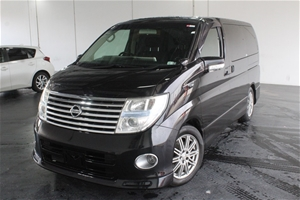 2007 Nissan Elgrand Automatic People Mov