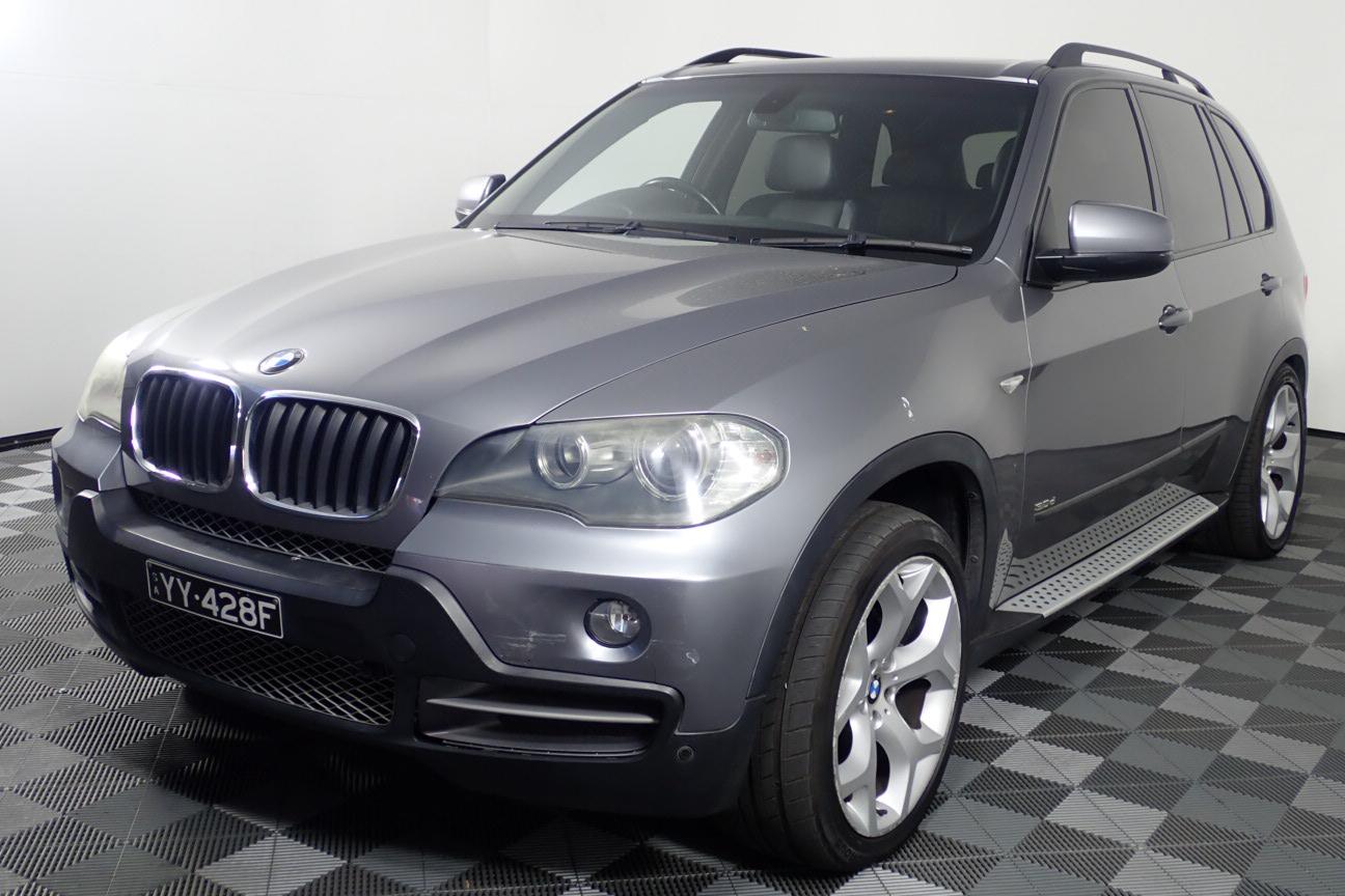 2008 BMW X5 3.0d E70 Turbo Diesel Automatic 7 Seats Wagon