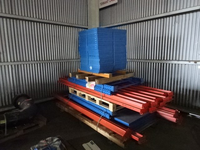 A Quantity of Industrial Pallet Racking (disassembled)