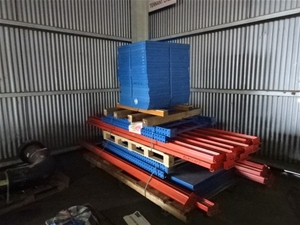 A Quantity of Industrial Pallet Racking