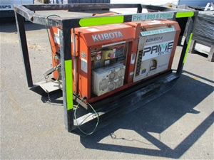 Kubota 9.0kVA Generator Diesel - Brisban