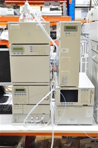 HPLC ternary low pressure system compris
