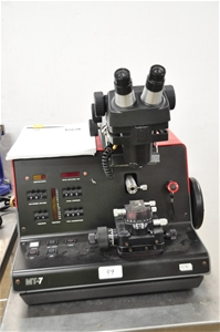 Ultra microtome with stereo microscope h