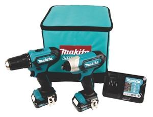 MAKITA 2pc 18V Cordless Combo Kit c/w Dr