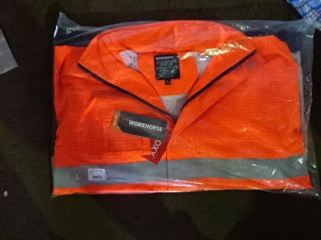 A Quantity of Hi-Vis Wet Weather Gear, Work Horse brand