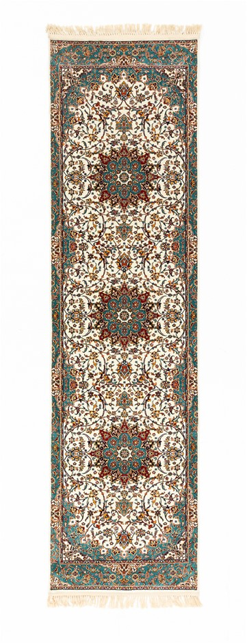Machine Made Art Silk Pile Floor Rug Size (cm): 80 x 400