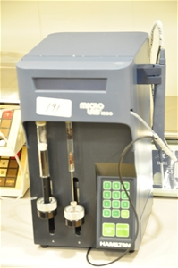 Diluter dispenser dual syringe fully pro