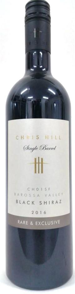 Chris Hill Single Barrel Barossa Valley Black Shiraz 2016 (6 x 750mL) SA