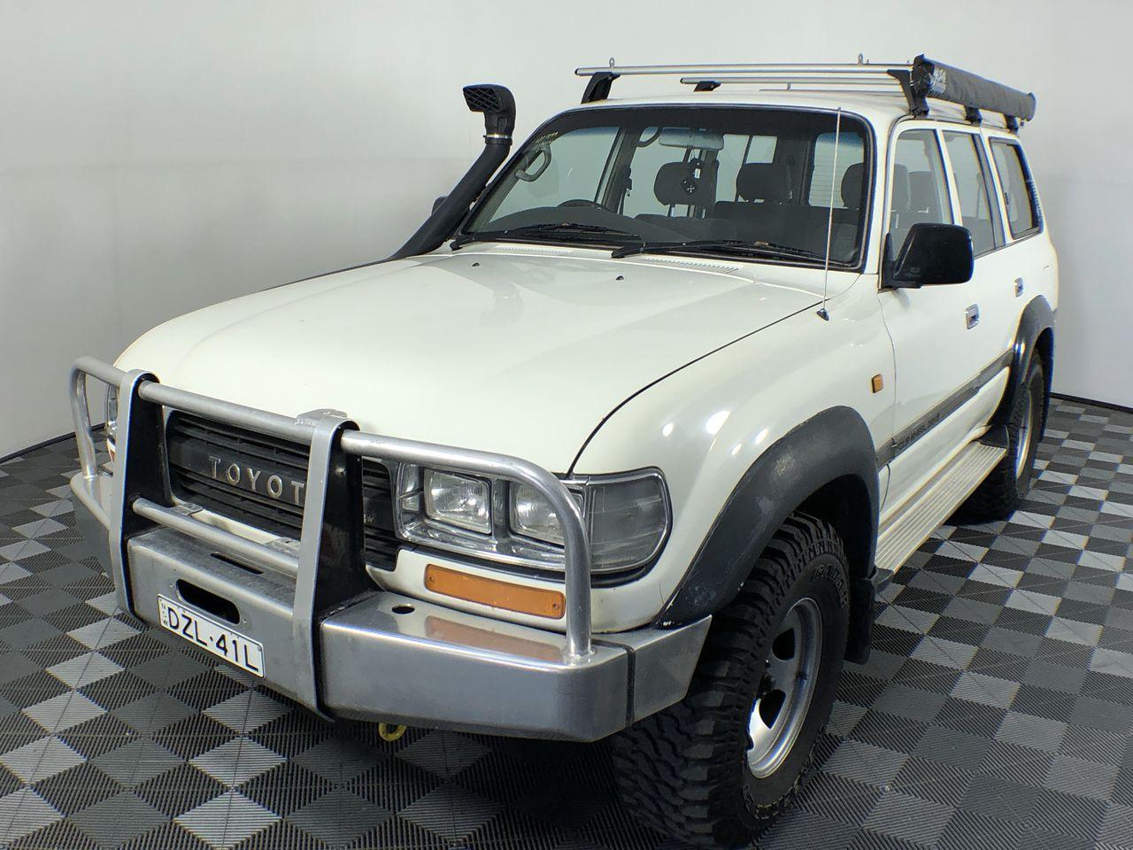 1994 Toyota Landcruiser GXL (4x4) FZJ80 Automatic 8 Seats Wagon