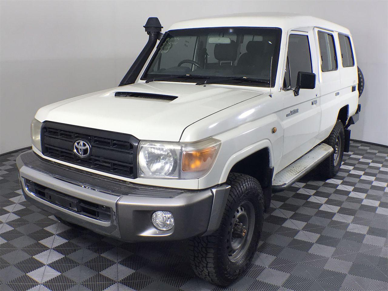 Toyota Landcruiser Workmate (4x4) VDJ78R Turbo Diesel Manual 7 Seats Wagon