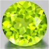 1.55ct. Genuine Round facet Green Peridot
