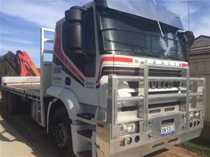 2010 Iveco Stralis 6x2 Crane Truck