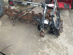 Dingo Mini Digger Trenching Attachment