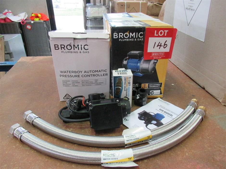 Bromil 60 Litre Waterboy Jet Pump