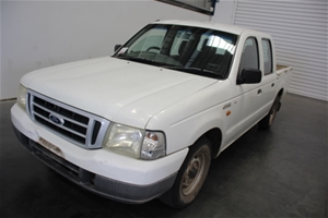 2003 Ford Courier GL PG Dual Cab 136,853