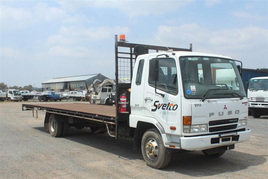 2007 Mitsubishi Fuso 4 x 2 Tray Body Truck