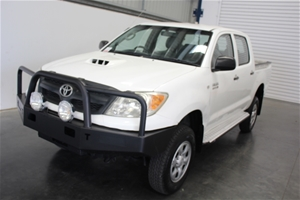 09/2007 Toyota Hilux SR T/Diesel 5spd Ma
