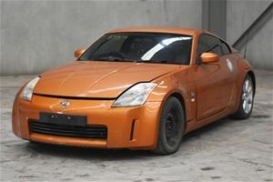 2003 Nissan 350Z Touring Z33 Manual Coup