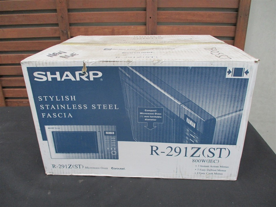 Sharp R-291Z(ST) Microwave Oven