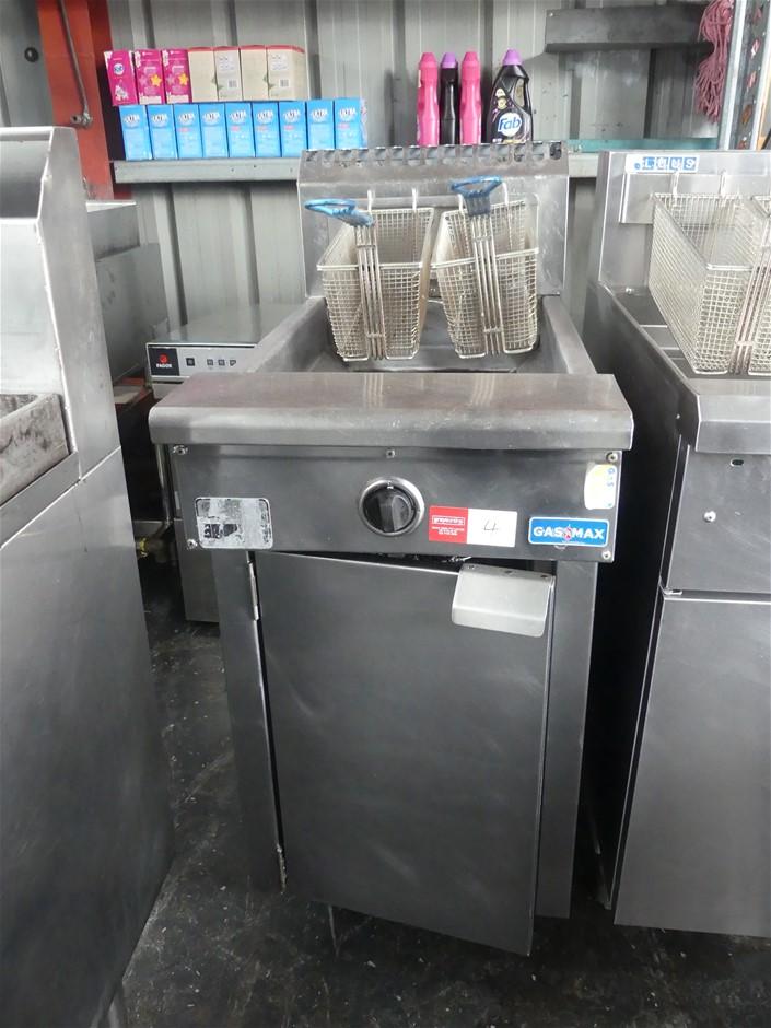 Gasmax 2 Basket Deep Fryer