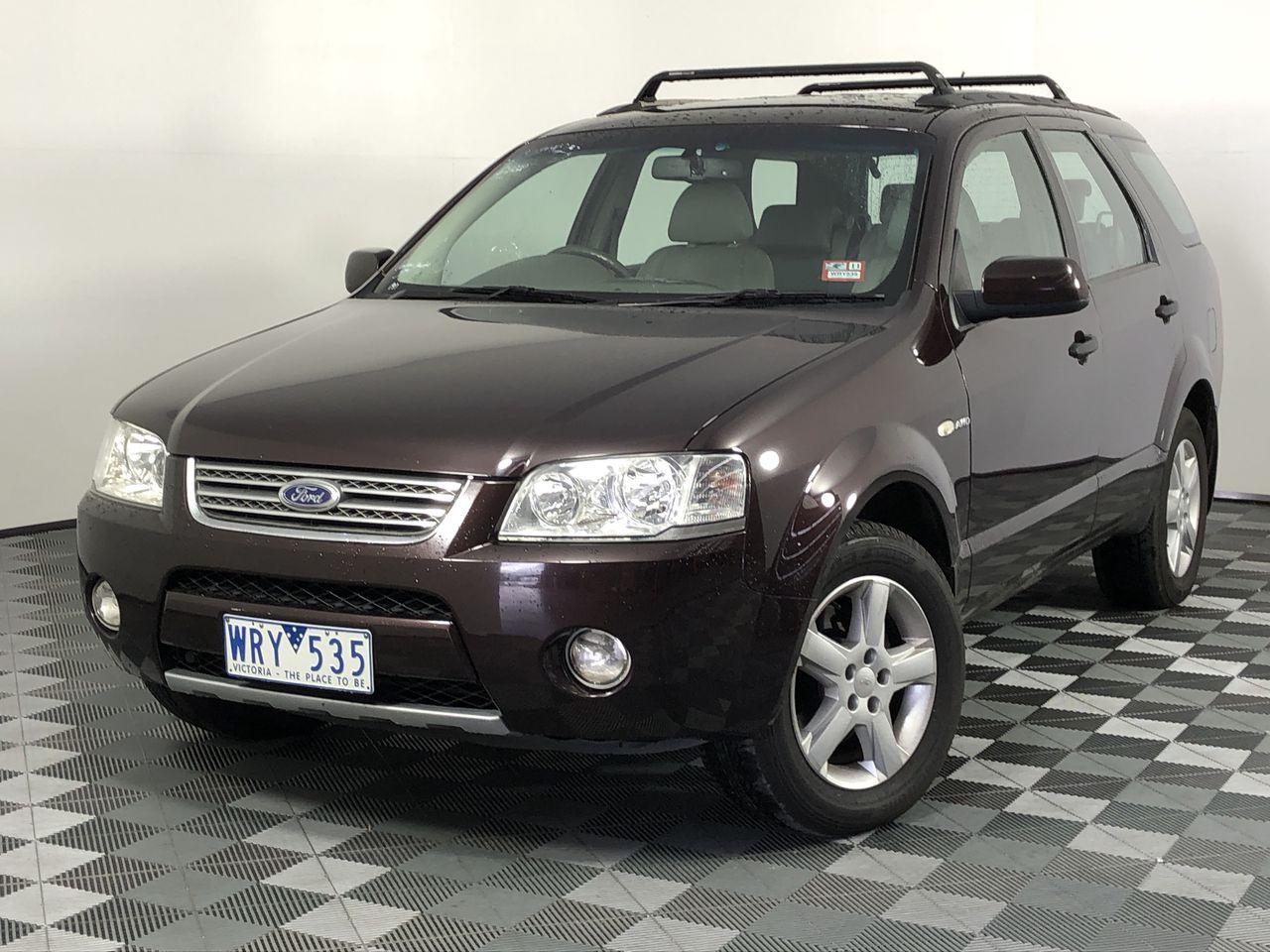 2008 Ford Territory Ghia (4x4) SY Automatic 7 Seats Wagon