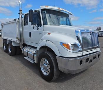 Unreserved 2007 International 7600 6x4 Tipper Truck