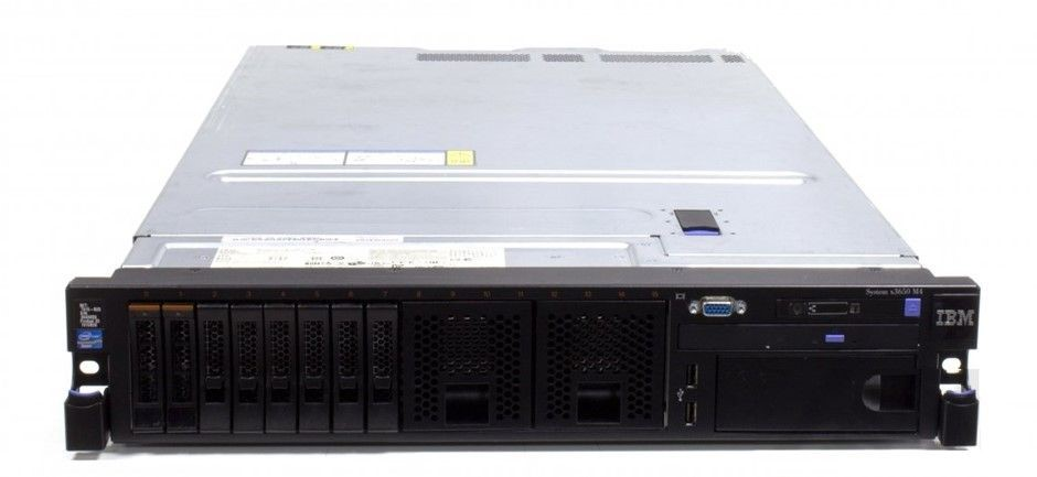 IBM X3650 M4 V2 Rackmount Server 16 Cores 384GB RAM 4.8TB