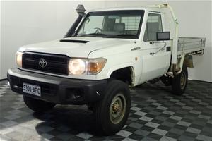 2011 Toyota Landcruiser Workmate (4x4) T