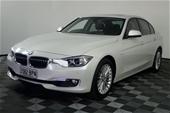 2012 BMW 3 Series 320i F30 Luxury Automatic - 8 Speed Sedan