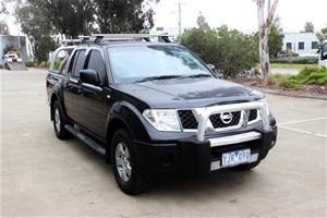 2011 Nissan Navara ST Turbo Diesel 4WD A